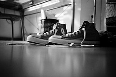 Photo: pair of Chuck Taylor sneakers